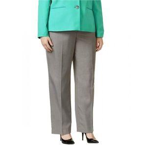 NEW Le Suit Suit Separates Dress Pants Grey 22W